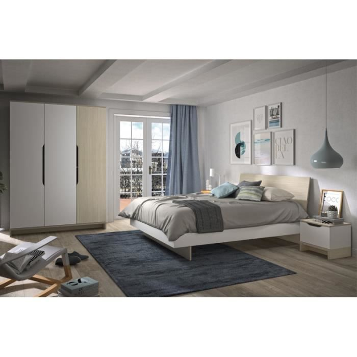 Chambre adulte complete moderne - Achat / Vente pas cher