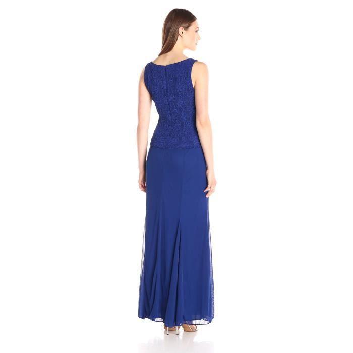 L6z36 Robe Longue Alex Veste Femme Evenings Avec Mandarine 05FRBq