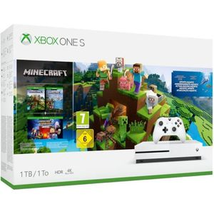 CONSOLE XBOX ONE NOUV. Xbox One S 1 To Minecraft