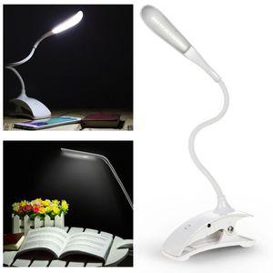 LAMPE A POSER Lampe de bureau à table à Pince BLANC Simple sans