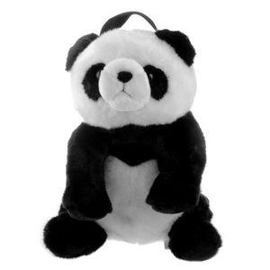 SAC À DOS Sac à Dos Cartable Peluche Panda  Enfants Schoolba