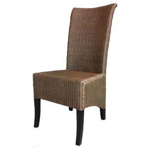 CHAISE Chaise En LLOYD LOOM Et Acajou MCH1300