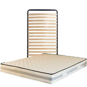 MATELAS Matelas 90x190 + Sommier + pieds Offerts - Mémoire