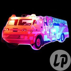 ACCESSOIRE DÉGUISEMENT badge led camion de pompier