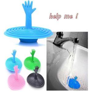 BOUCHON ÉVIER la forme de la main à l'eau des toilettes - boucho