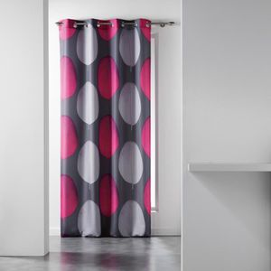 RIDEAU CDaffaires Rideau a oeillets 140 x 280 cm polyeste