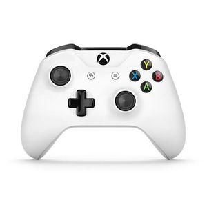 CONSOLE XBOX ONE Manette sans fil Xbox (blanc)