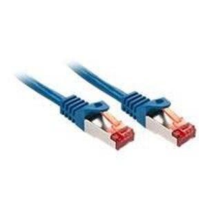 CÂBLE RÉSEAU  LINDY Câble réseau Basic CAT 6 - 0,5m - Bleu