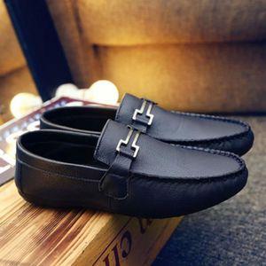 MOCASSIN Homme Mocassin mode 2016 été nouvelle chaussure Bl