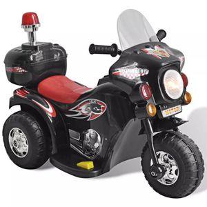 VOITURE ENFANT Moto à chevaucher sur piles Noir