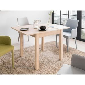 TABLE À MANGER SEULE COBURG Table à manger extensible de 4 à 8 personne