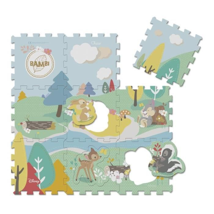 CHICCO Tapis puzzle Bambi