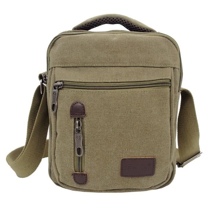 nice cheap new high quality outlet for sale Sac sacoche bandoulière en toile homme femme