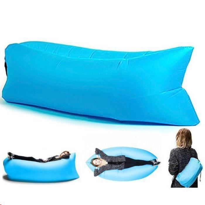 Chaise gonflable chaise dormir sac paresseux canap for Chaise gonflable