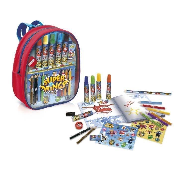 Canal Toys Super Wings Sac à Dos De Coloriage Loisirs Créatifs