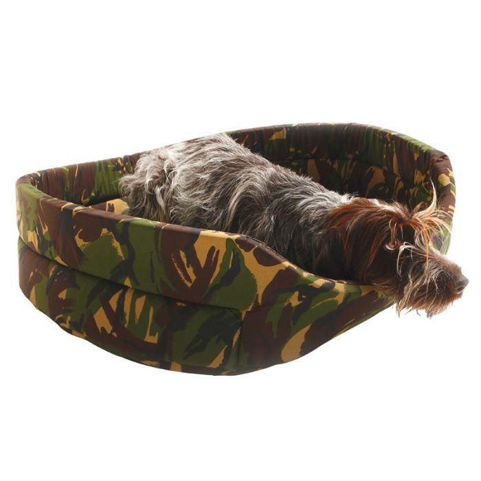 Corbeille Pour Chien - Mousse Camouflage (65cm)