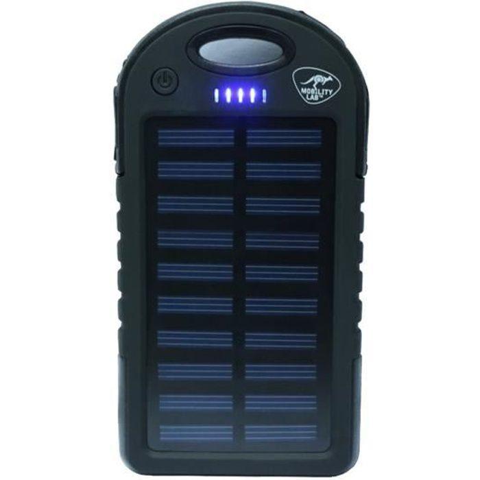 BATTERIE EXTERNE ML Batterie externe Solaire 5 000 mAh - Avec réser