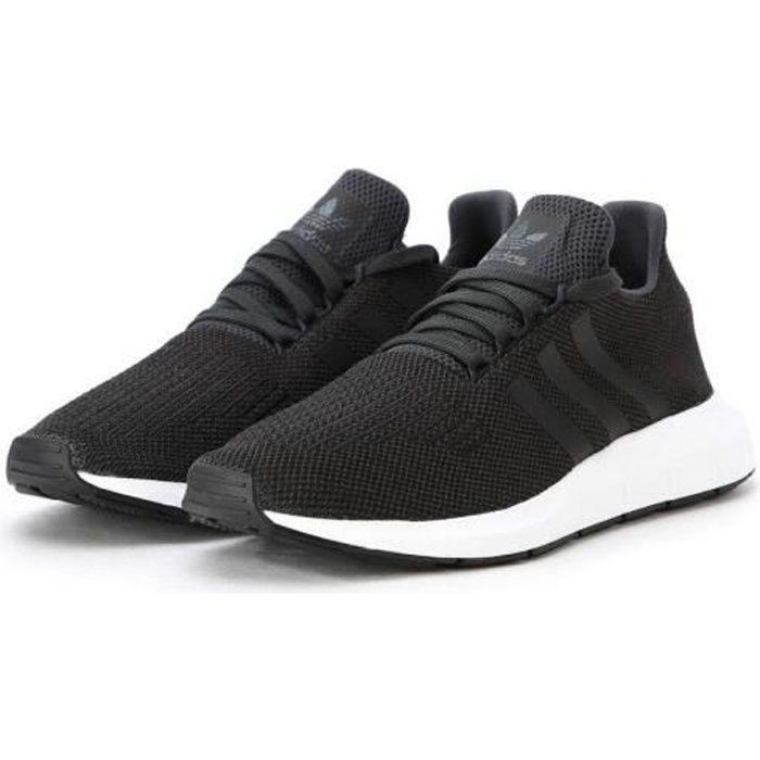 Basket adidas Originals Swift Run Primeknit - CQ2894 Noir Noir - Achat / Vente basket  - Soldes* dès le 27 juin ! Cdiscount