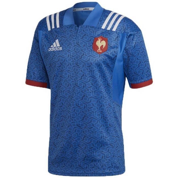 Xv Rugby Saison De Maillot France Enfant Domicile Nouveau 2018 Adidas 2017 rsdCxothQB
