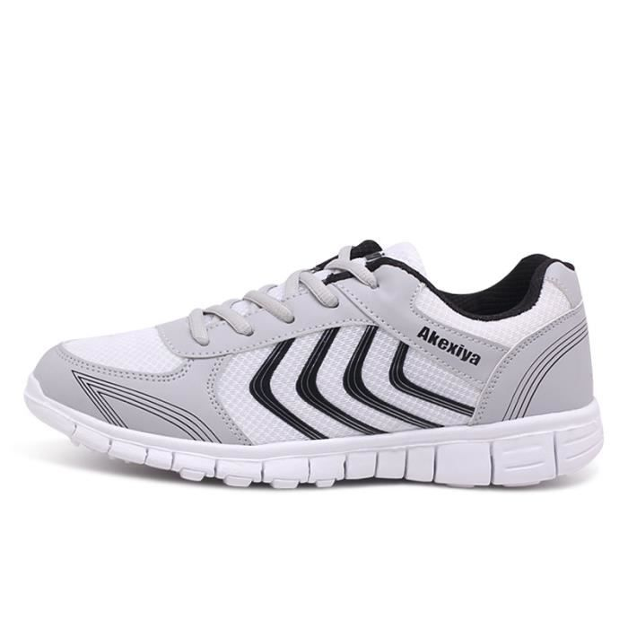 Léger Sport hiver XZ230Gris42 Jogging Ultra Baskets Chaussure Respirant BBDG Homme Chaussures qY7Hnxgw
