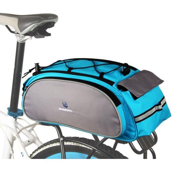 roswheel sac sacoche v lo porte bagages avec sangle d. Black Bedroom Furniture Sets. Home Design Ideas