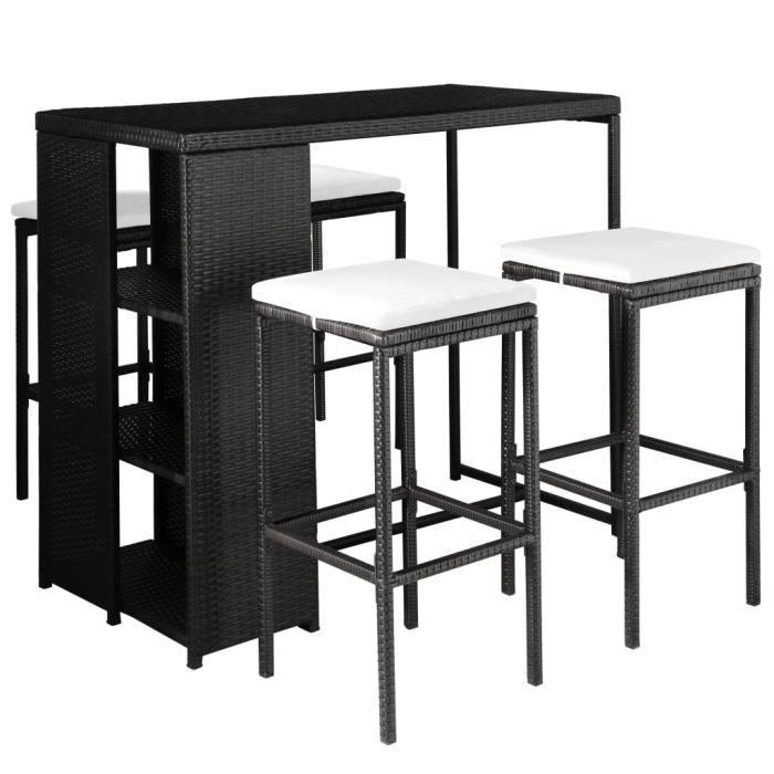 Table bar salon de jardin