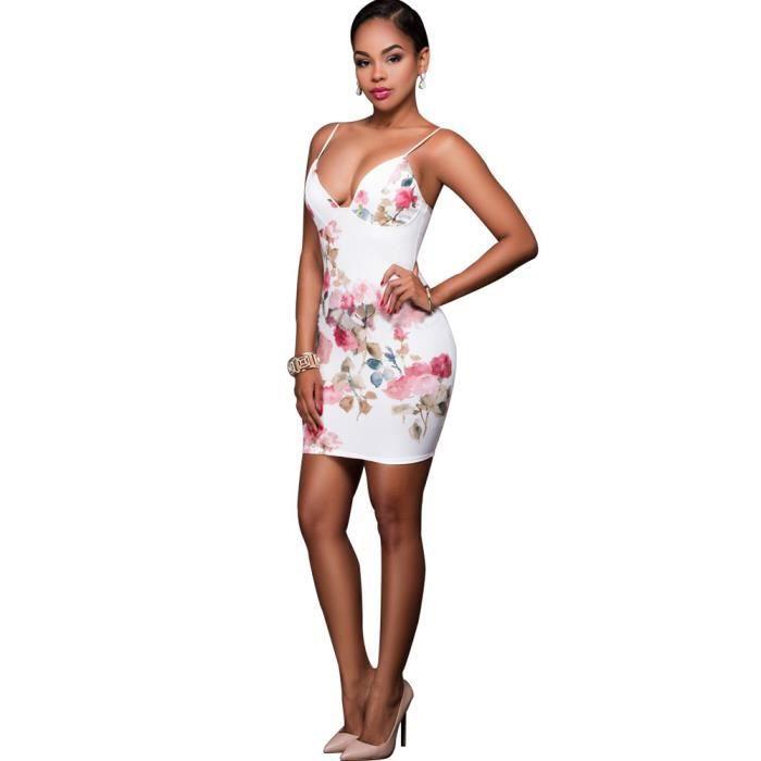 Vroenment®Les femmes dété décontracté sans manches décontracté Party Cocktail Mini-robe courte@zf123