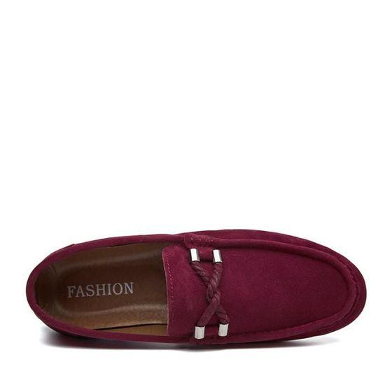 Qualité Occasionnelles Daim Chaussures En Confortable Mode Cuir Homme Appartements Chaussure Meilleure Mocassins qfpIqw