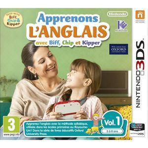 JEU 3DS Apprenons L'ANGLAIS avec Biff Vol.1 Jeu 3DS
