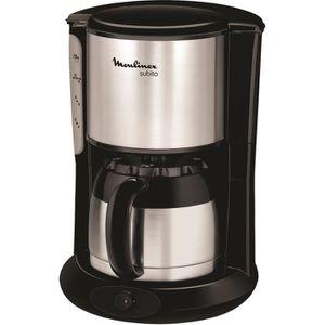 MOULINEX FT360811 Cafeti?re filtre avec verseuse isotherme - Noir
