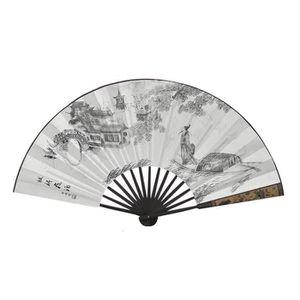 OBJET DÉCORATIF Soie Folding Fans Style Retro Style Chinois