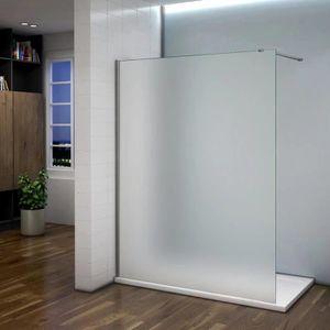 paroi de douche verre depoli achat vente pas cher. Black Bedroom Furniture Sets. Home Design Ideas