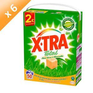 LESSIVE XTRA Lessives en poudre Total - Aloe vera et Marse