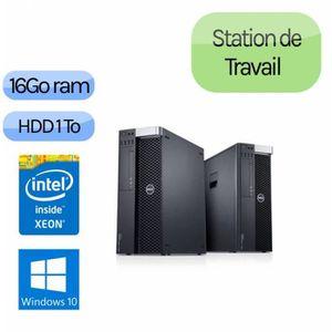 UNITÉ CENTRALE  Dell Precision T3600 - Windows 10 - E5-1607 16GB 1