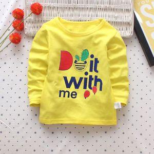 Ensemble de vêtements Tout-petit Enfant Filles Garçons Lettre Imprimer m ... 32454f65ebf
