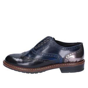 DERBY SOLDINI by CORAF Chaussures Femme Derbies Cuir Ble