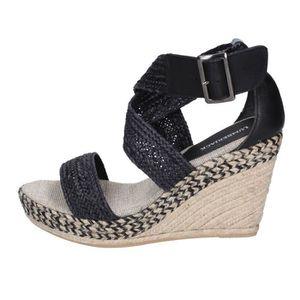 SANDALE - NU-PIEDS LUMBERJACK Chaussures Femme Sandale cuir Noir BT72