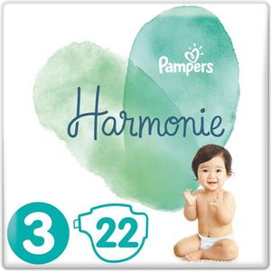 COUCHE PAMPERS Harmonie Taille3, 6 -10 kg, 22Couches
