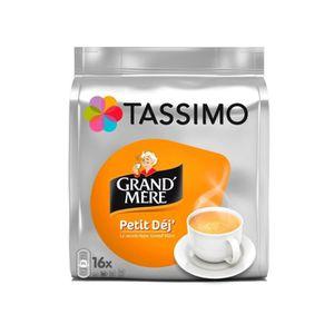 CAFÉ - CHICORÉE TASSIMO Grand'Mère Petit Déjeuner 16 Tdisc - Pack
