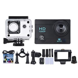 CAMÉRA SPORT WiFi Action Caméra 1080P 12MP Anti-Choc Etanche 30
