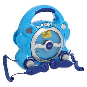 RADIO CD ENFANT VIDEOJET Lecteur CD 2 Micros