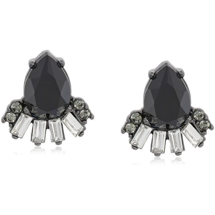 Carolee Midnight Tower Pear Shape Spray Stud Earrings DT8A8