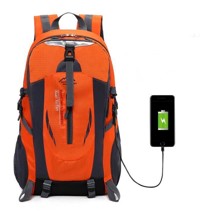sac a dos Voyages Homme daffaires Labtop USB Fonction de charge