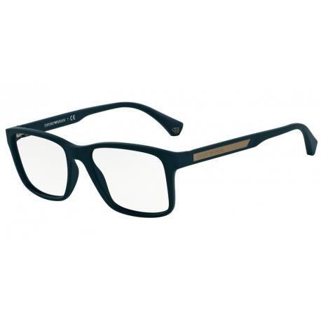 40f17682a3 Achetez Lunettes de vue Emporio Homme Modern(AR) OEA3055 bleu caoutchouc