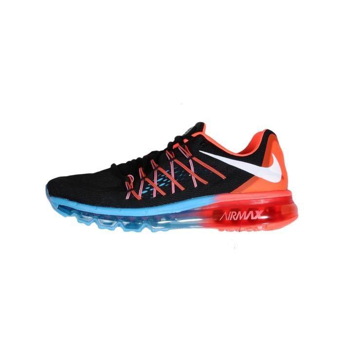 chaussures de séparation b3df7 75c7e Nike air max 2015 NOIR/ ROUGE/BLEU - Achat / Vente chaussure ...