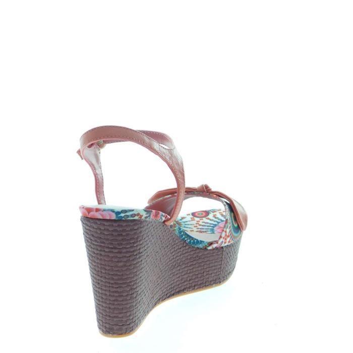 Desigual Sandal Femme Multicolor