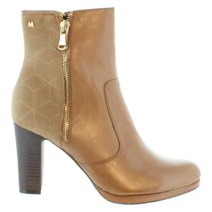 Bottines pour Femme MARIA MARE 61199 NAPAL TAUPE