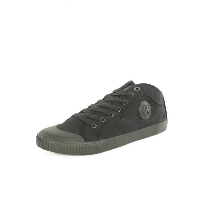 Sneakers en toile PMS30336 Industry -PEPE JEANS Noir Homme