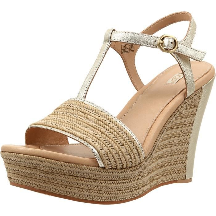 Ugg Women's Fitchie Wedge Sandal RUPNR Taille-42