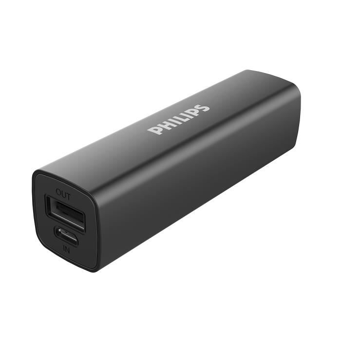chargeur batterie usb philips